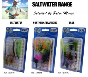 WILDFISH SALTWATER FLY PACKS