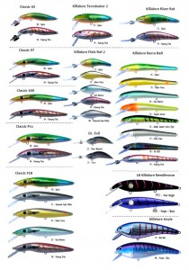 NEW LURE COLOURS