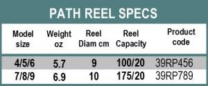 PATH REEL SPECS