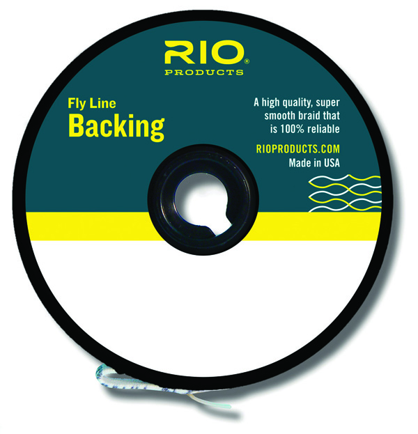 Jm gillies rio fly line backing for Fly fishing backing