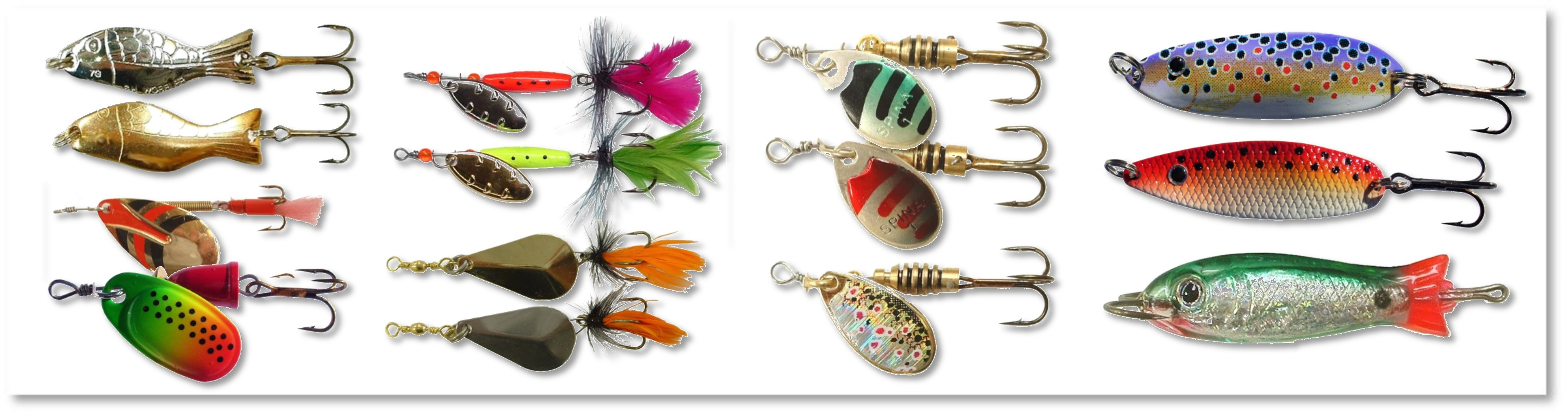 JM Gillies | GILLIES FRESHWATER LURES & TROLLING RIGS