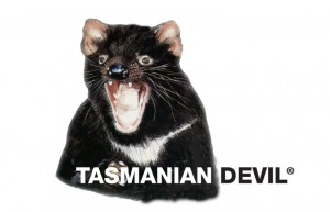 Tasmanian Devil Ad Logos